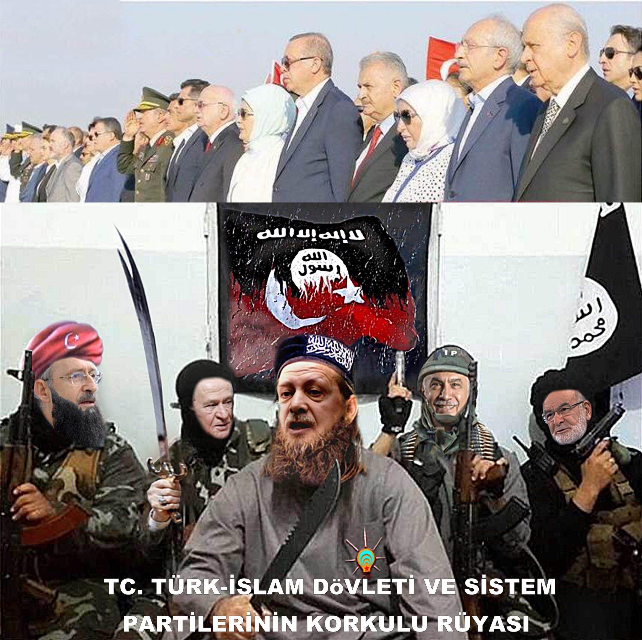 tc TÜRK-İSLAM devleti sistem partileri korkulu rüyası