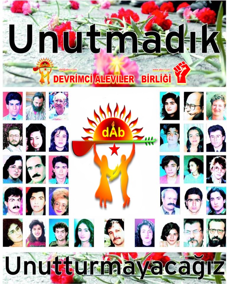 sivas unutma Devrimci Alevi Kızılbas pir sultan