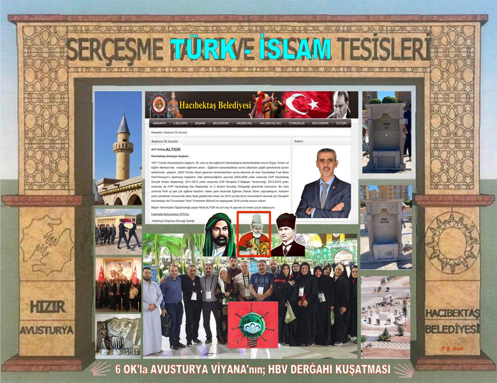 SERÇEŞME Türk-İslam TESİSLERİ, 6 OK'la AVUSTURYA VİYANA'nın HBV DERGAHI KUŞATMASI