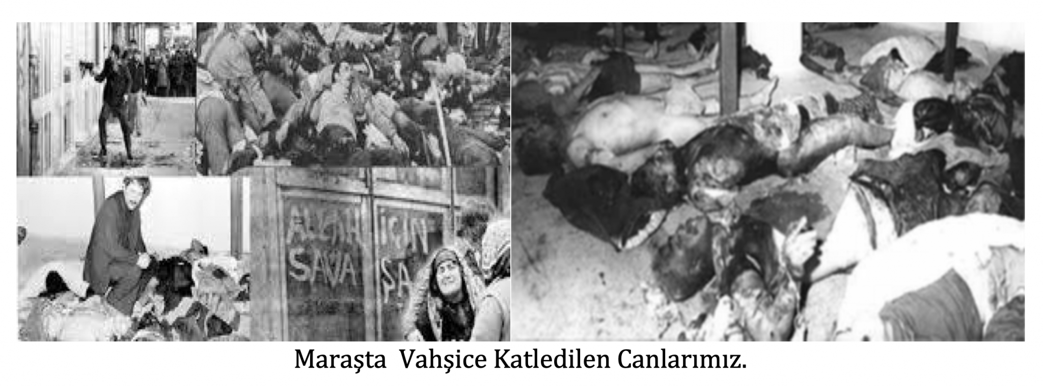 Maraş katliamı Devrimci Alevi bektaşi kızılbas 1
