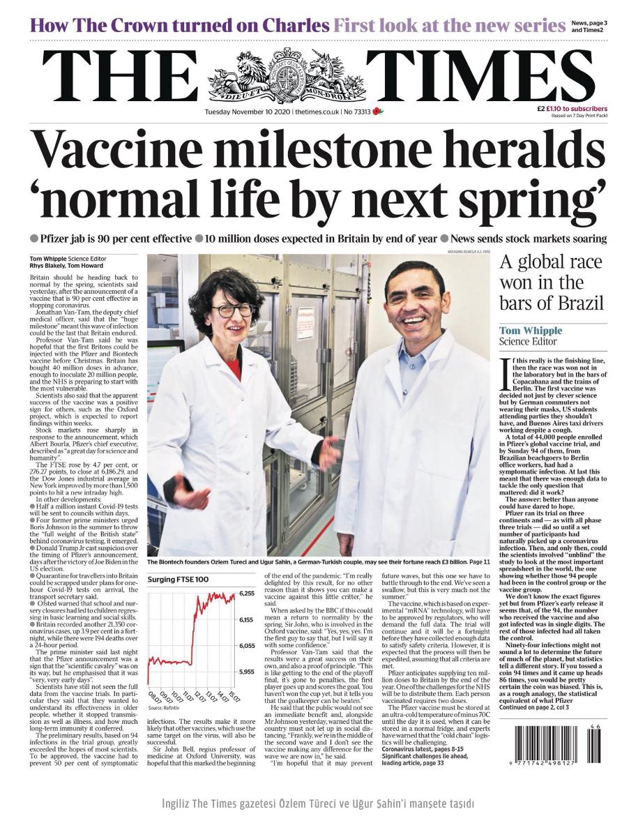 Uğur Şahin Özlem Türeci covid 19 Korona Corona vaccine aşısı Devrimci Alevi bektaşı kizilbas 2