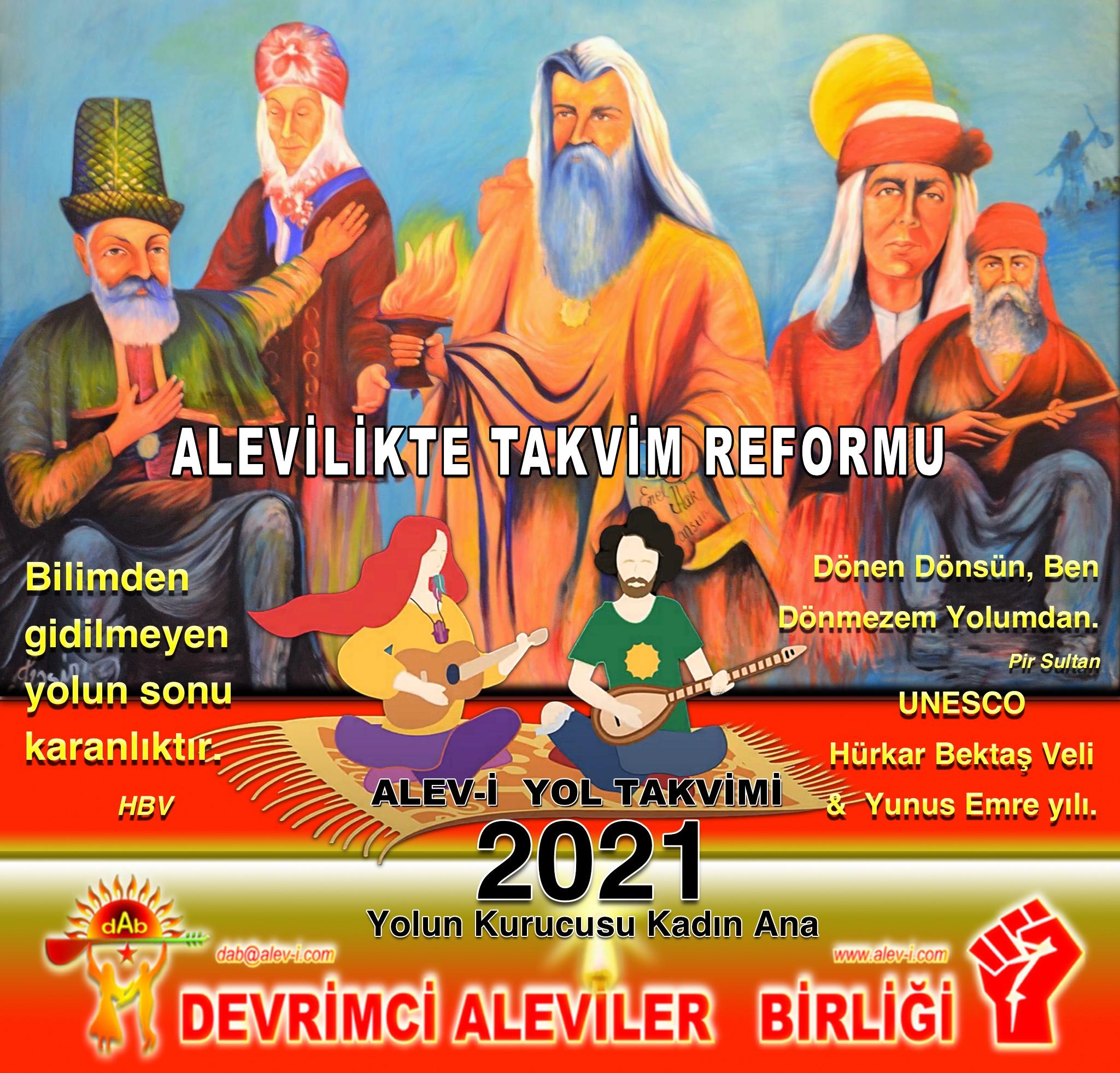 0 Alevi HBV mansur kadın ana Alevi bektaşi kızılbaş pir sultan cem alevilikte takvim reformu 2021