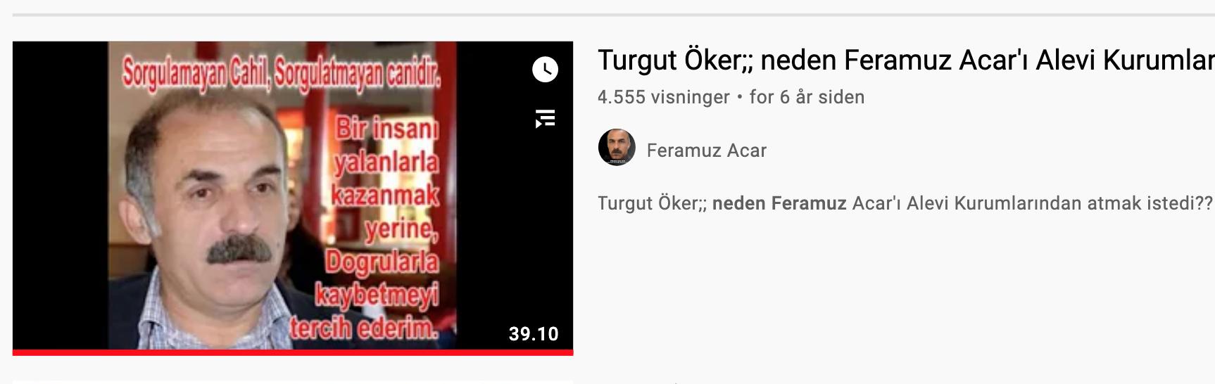 B10 Feramuz Acar Turgut Öker video