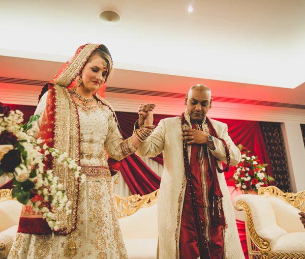 Sally & Faz [indian wedding]