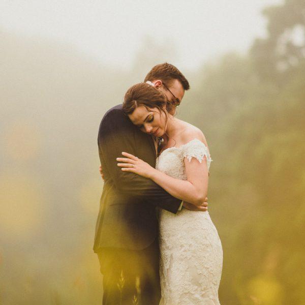 DIY wedding with big bridal party