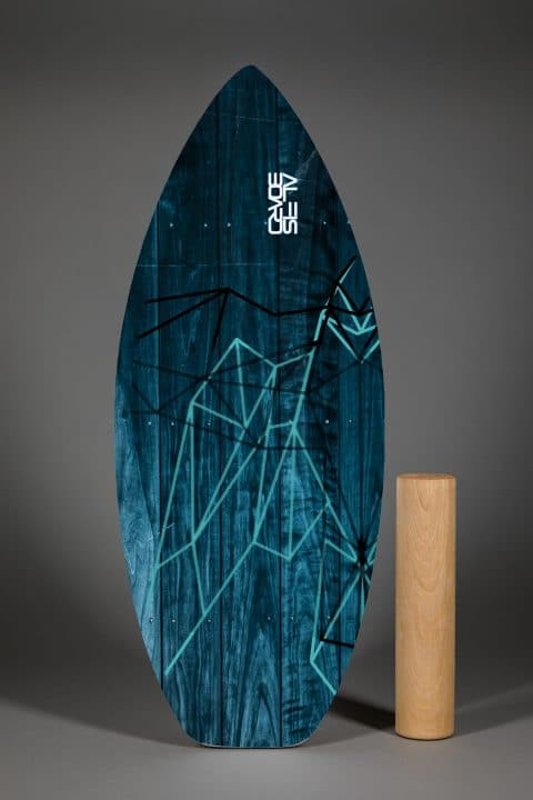 AlfisBoard Blue Wood