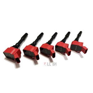 Bobinas de encendido rojas Alpha Competition   Válido para RS3 8V y TTRS 8S