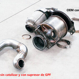 Downpipe descatalizada 1.6 y 2.0 TDI | Audi – Seat – Skoda – VW | MQB