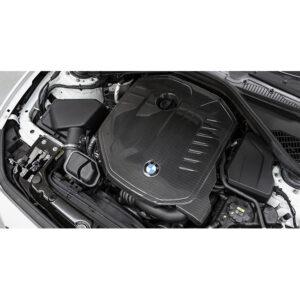 Tapa de motor en fibra de carbono Eventuri | BMW | B58