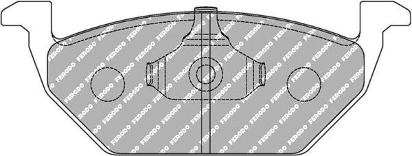 Pastillas de freno DS2500 Delanteras   FCP1094H