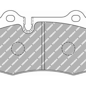 Pastillas de freno DS2500 Delanteras | FCP1348H