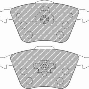 Pastillas de freno DS2500 Delanteras | FCP1765H