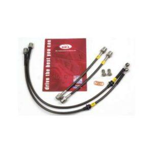 Latiguillos de freno metálicos HEL Performance | 4 líneas con freno de mano eléctrico