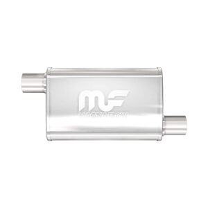Silencioso deportivo Magnaflow Oval | 4″x 9″ | Extremo/Extremo