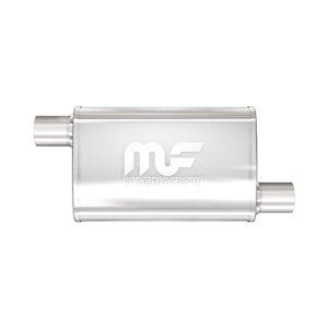 Silencioso deportivo Magnaflow Oval   4″x 9″   Extremo/Extremo