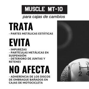 Tratamiento antifricción MUSCLE MT-10