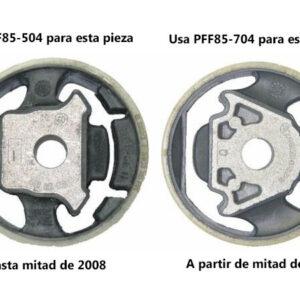 Paquete recomendado de silentblocks POWERFLEX   A3 8P – TT 8J – LEON 1P – GOLF MK5 Y MK6   >2008 – GASOLINA