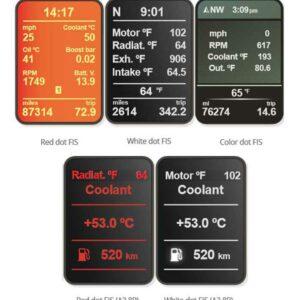 Polar FIS+   PF04   Audi A3 – TT 8J – Seat Leon 1P – VW Golf mk5/mk6