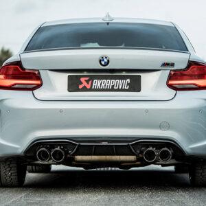Escape Akrapovic Slip-On Titanio   BMW M2 Competition