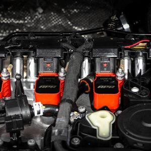 Bobinas de encendido rojas APR | Válido para 4.0 TFSI