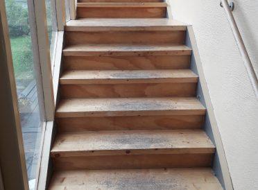 Slitt trapp opp