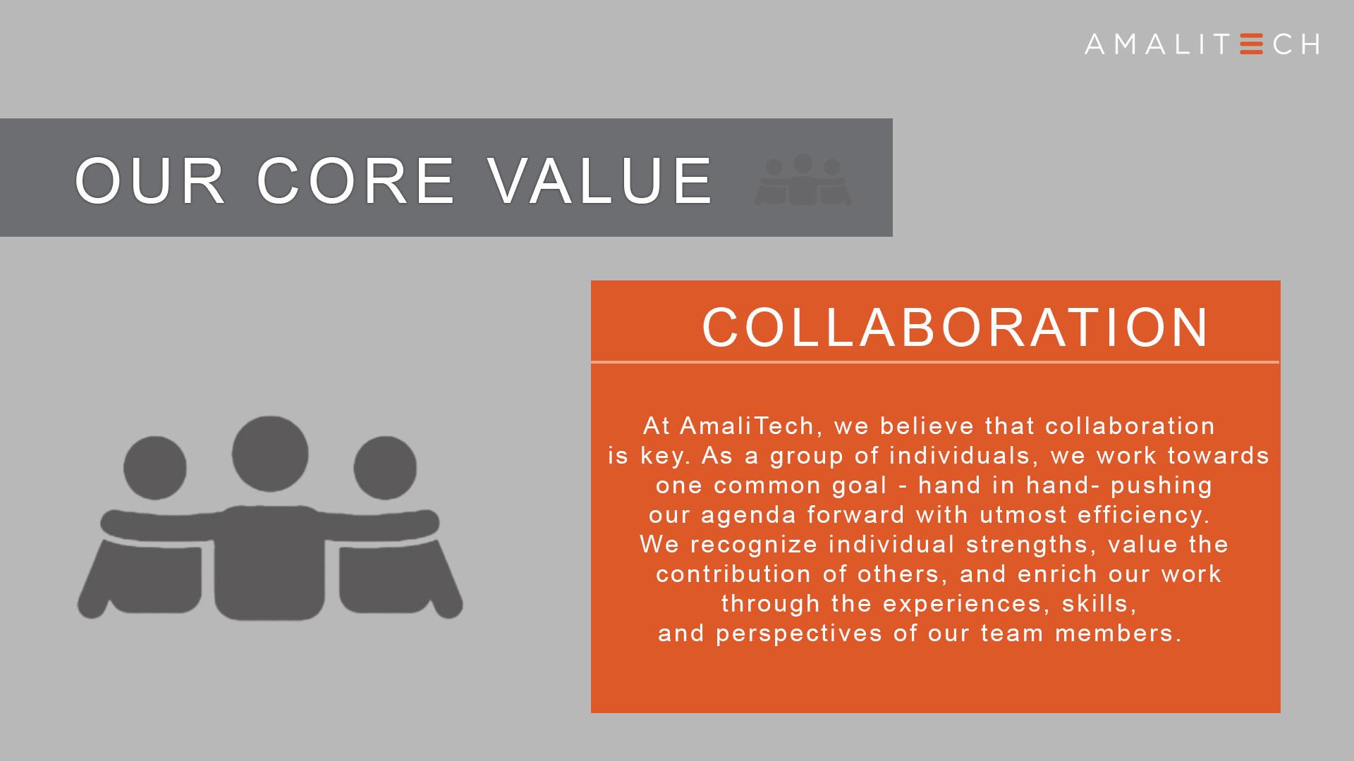 Core Value of Collaboration