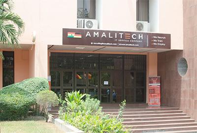 AmaliTech building