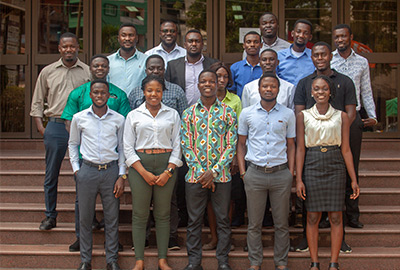 A group of graduate trainees
