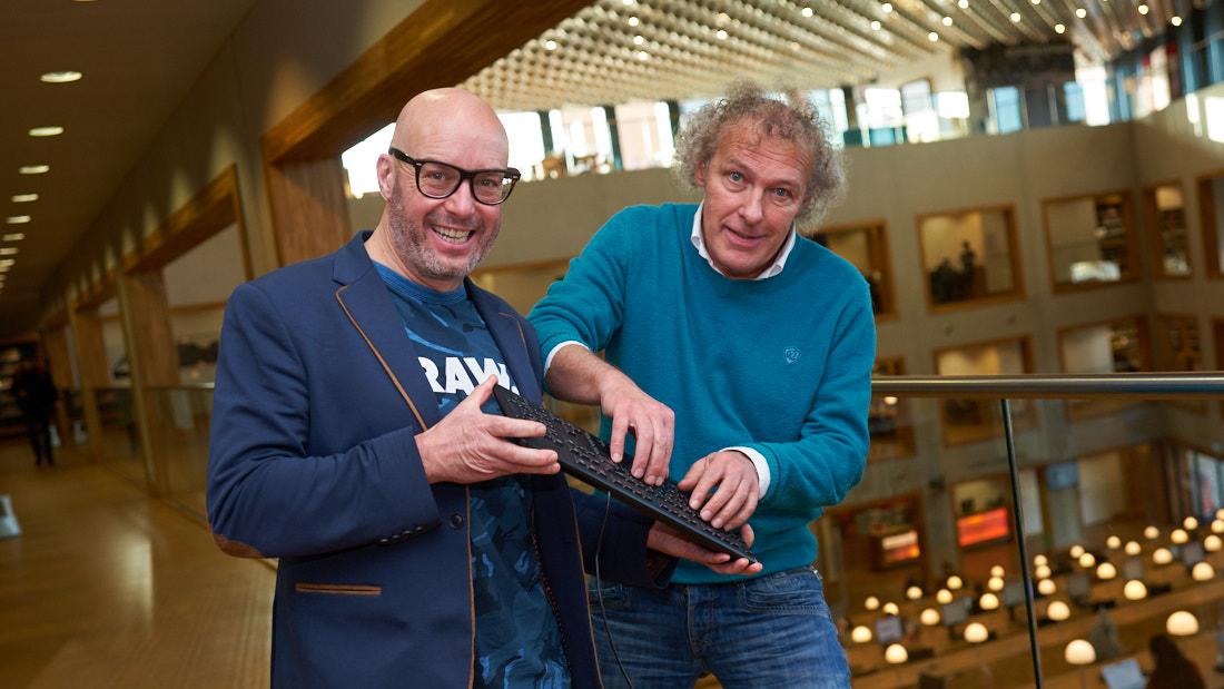 Wim van Rooijen en Arjen van der Linden - bijsluiter -AmersfoortKiest luizen in de politieke pels