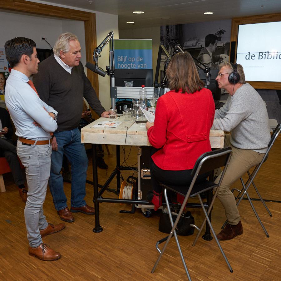 06-01-2018 ©Gerard Oonk/AmersfoortKiest Fotoverslag opening Politieke Huiskamer Meer geld naar sport