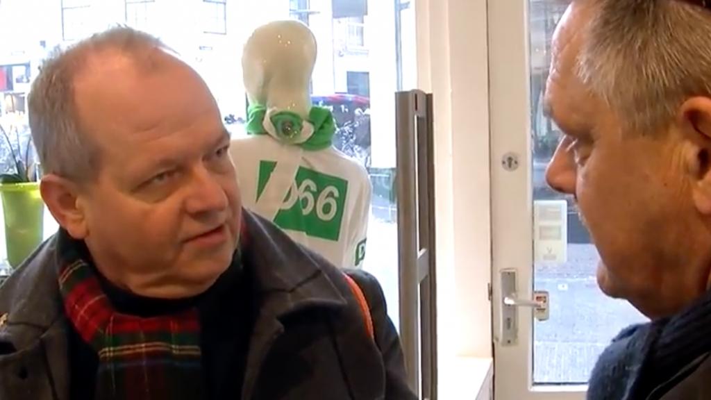 Discussies in D66-winkel