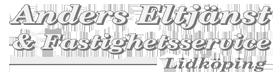 Anders Eltjänst & Fastighetsservice AB Logotyp