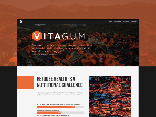 Building a brand and strategy to address refugee malnutrition