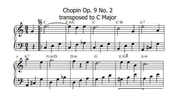 Chopin Op 9 No 2 Andrea Monk