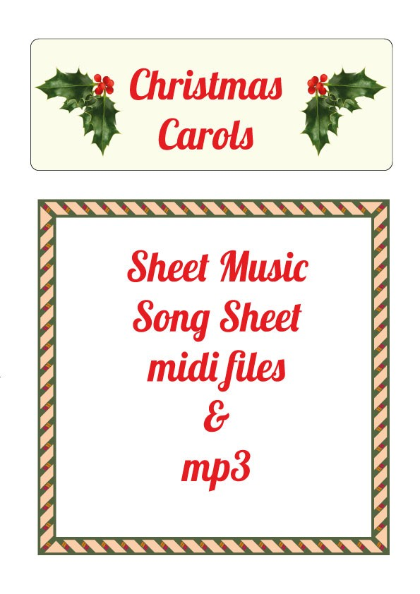 Christmas Carols Sheet Music