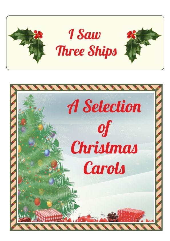 I Saw Three Ships Sheet Music