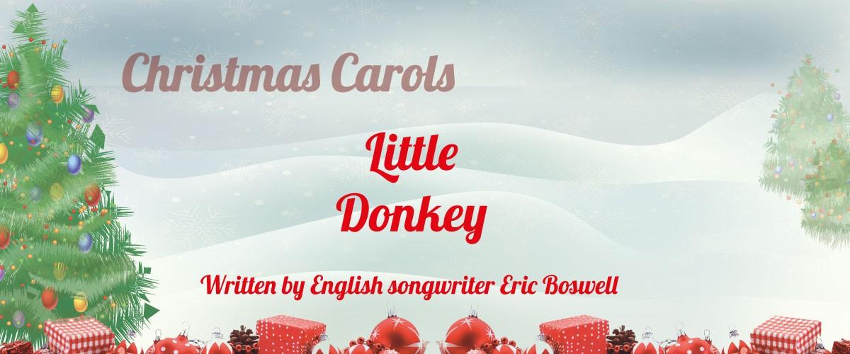 Little Donkey sheet music