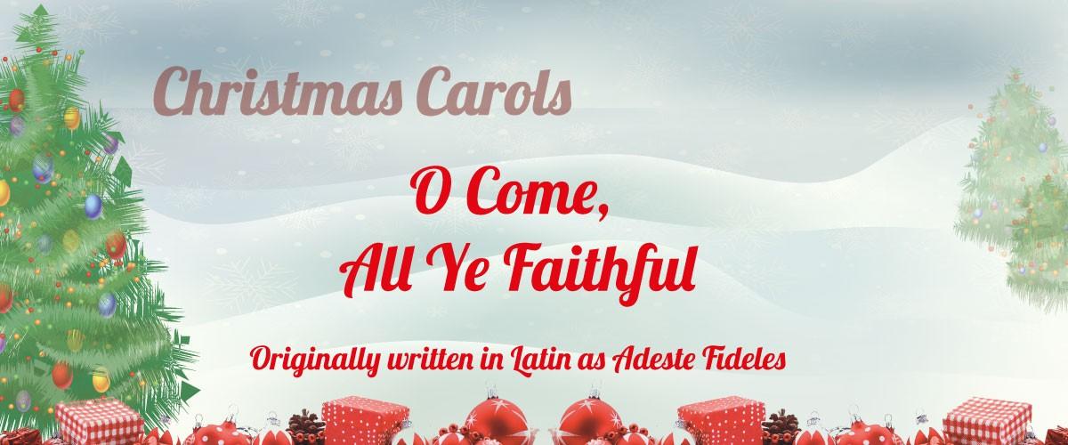 O Come All Ye Faithful sheet music