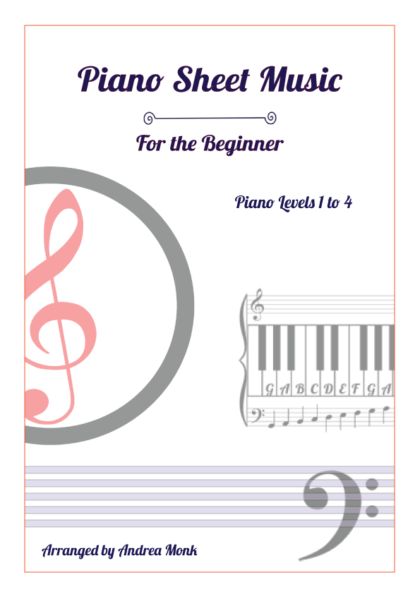 Piano-Sheet Music levels 1 to 4