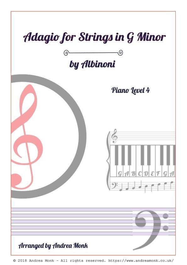Adagio for Strings in G Minor by Albinoni Level 4 cover