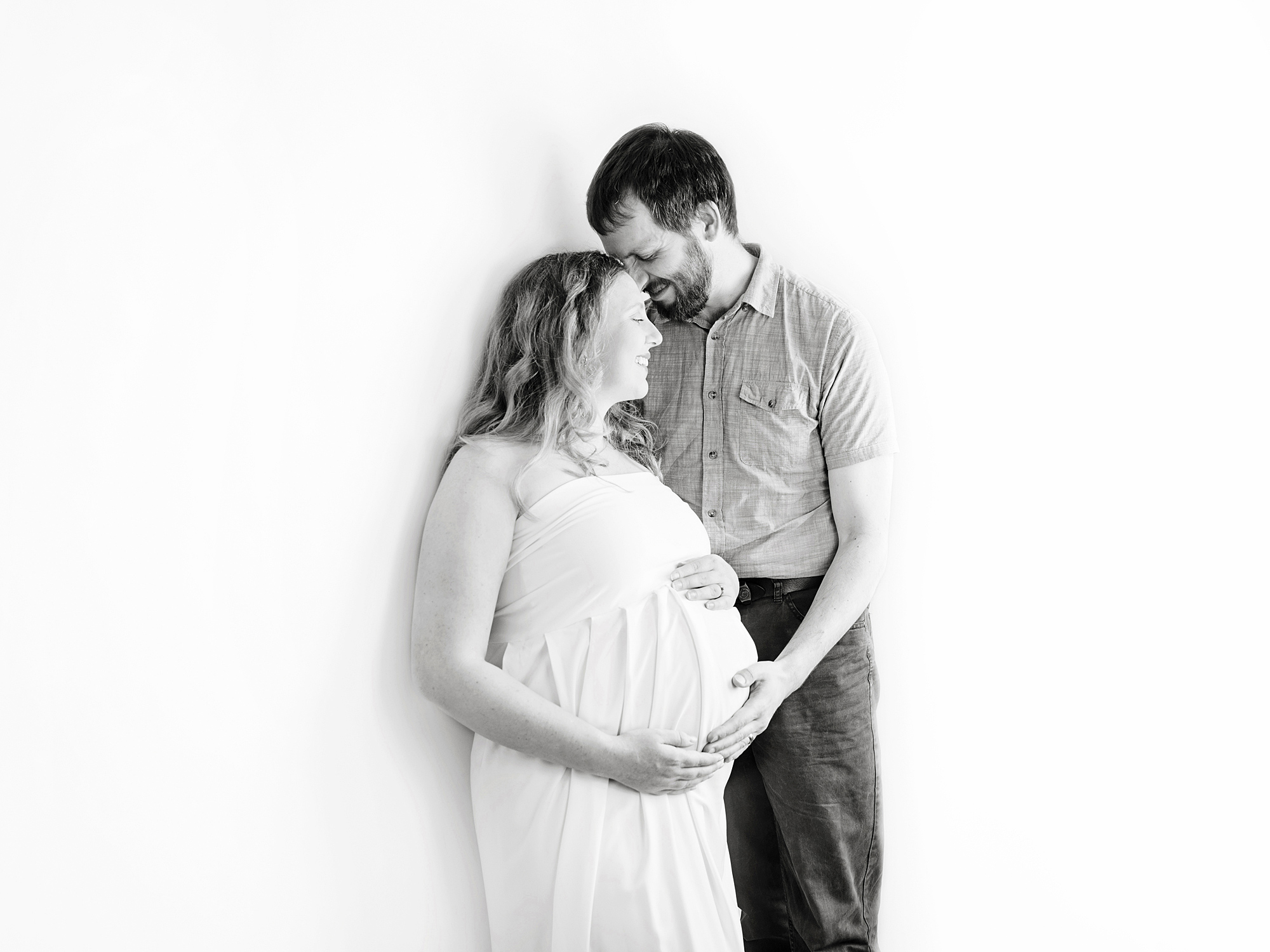 pregnancy maternity photography edinburgh midlothian with partner
