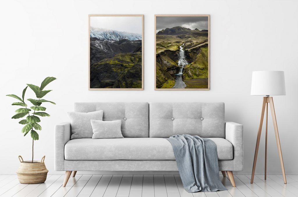 Mock up with my photos I sell