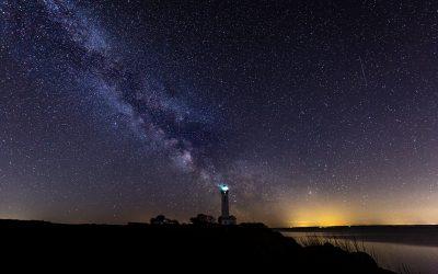 I nat fik jeg både stjerner, mælkevej og stjerneskud