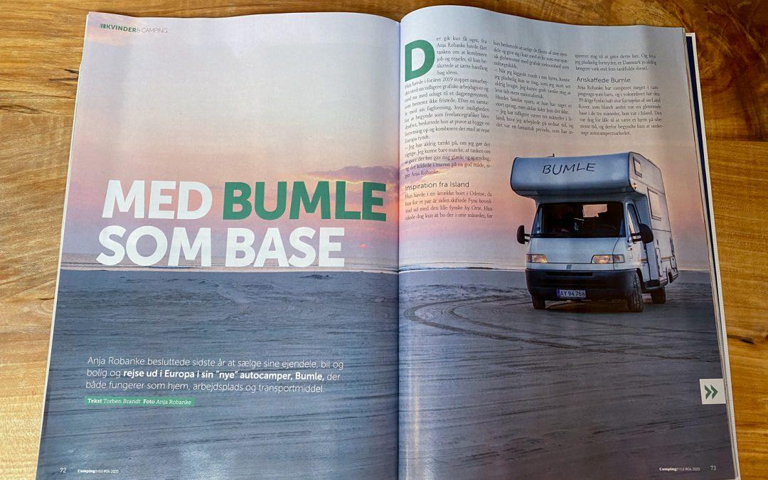 Dansk Camping Union fortæller om Bumle som base
