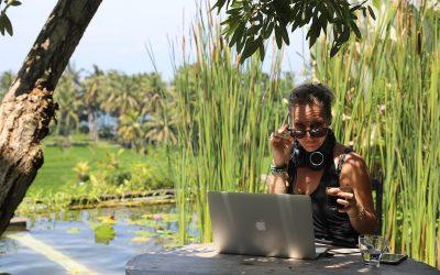 Jeg er med i Millespeak's podcast – den digitale Nomade