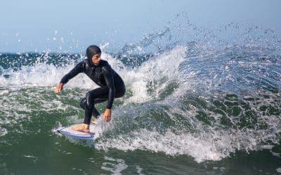 Surfer-spam ved Klitmøller
