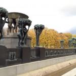 Oslo, vigeland, travel, autumn, statues