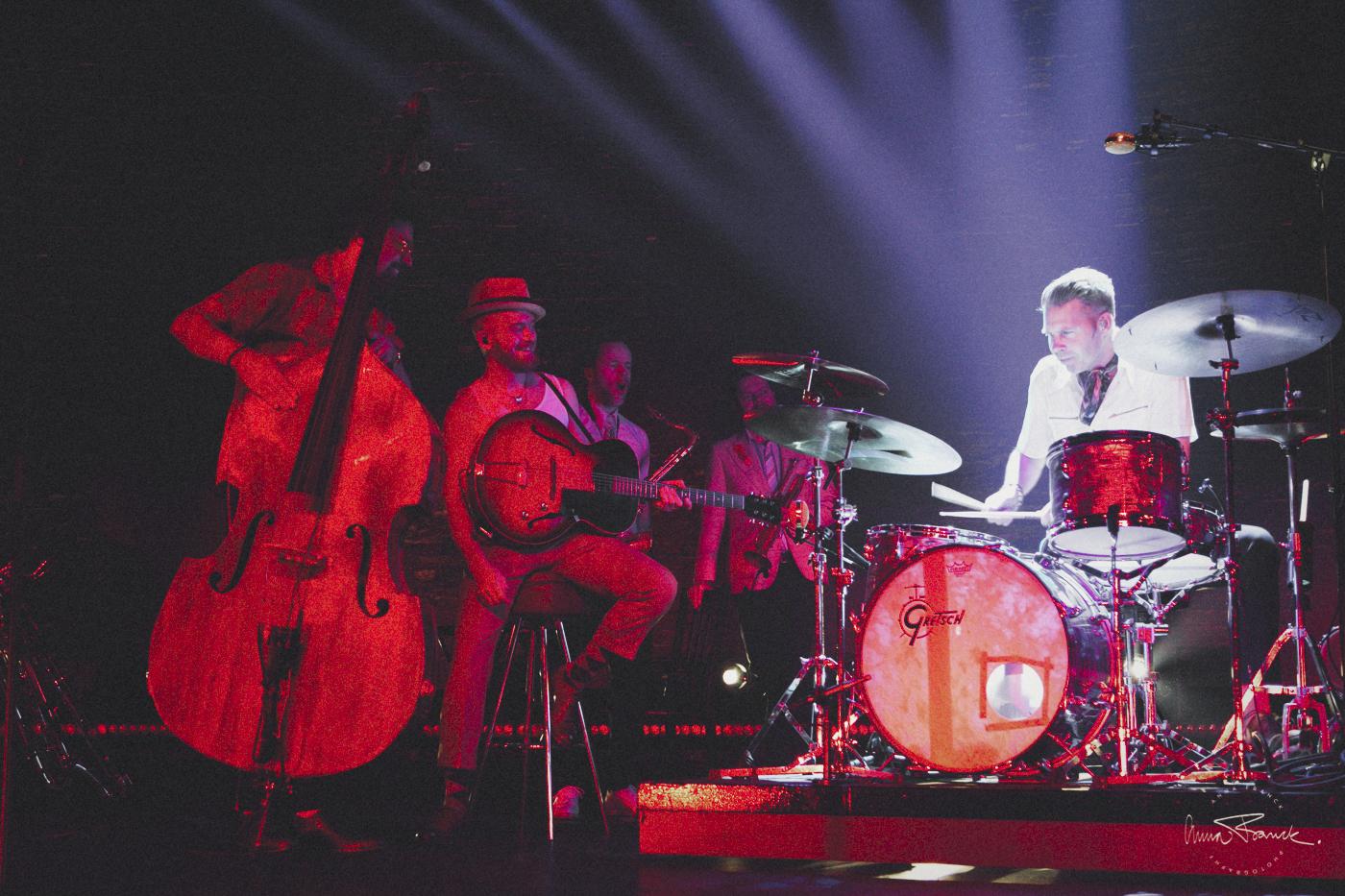 Bo Kaspers Orkester, BKO, Cirkus, Stockholm, music, consert, anna franck, photographer
