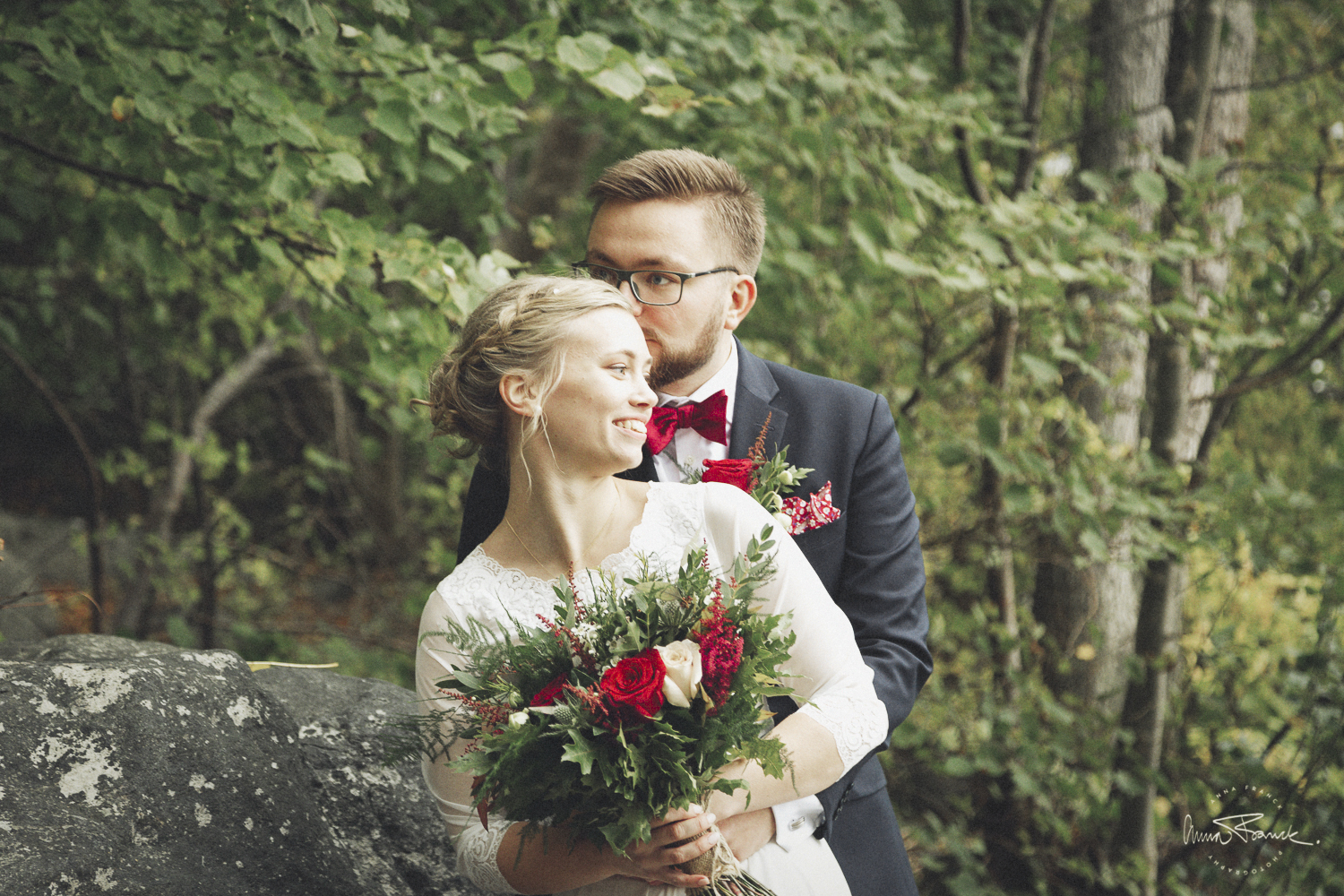 relaxed summer wedding in Stockholm - Anna Franck Photography
