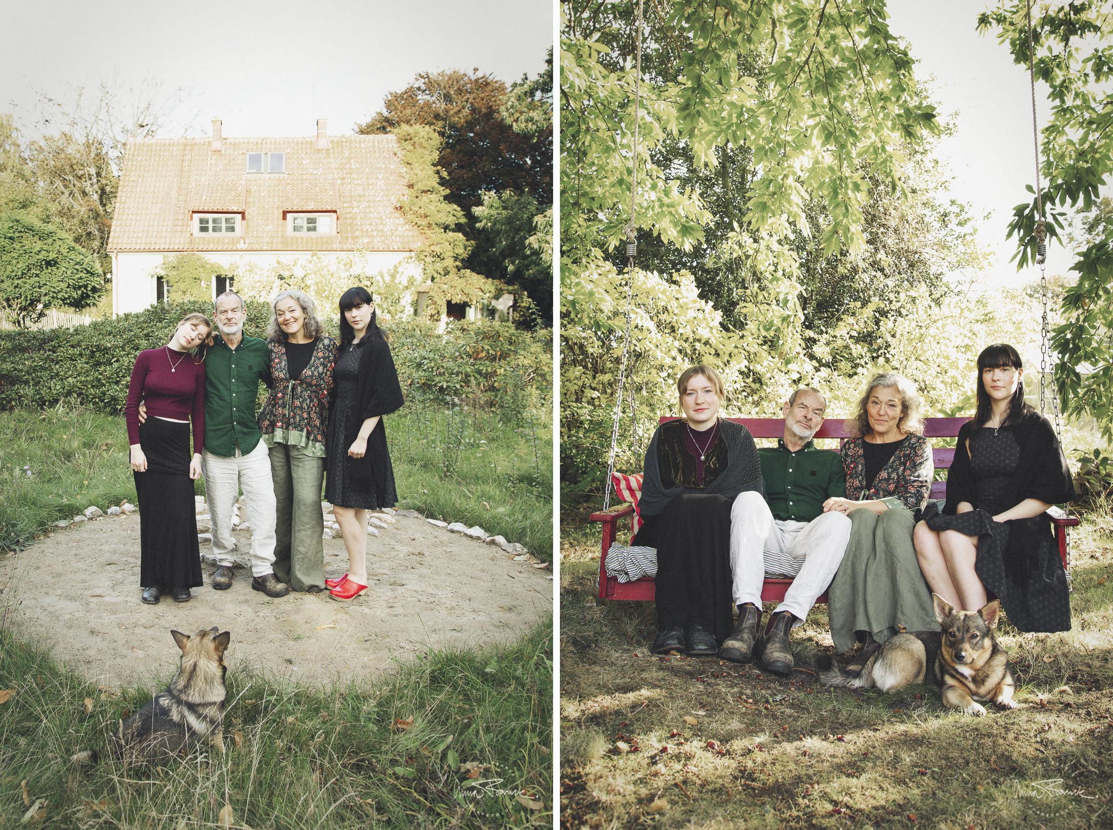 familjefotografering Österlen
